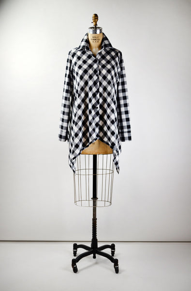 Tori Top in Gingham