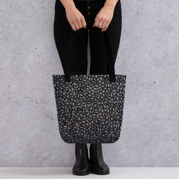 Black Beans Tote bag