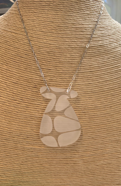 Pot Of Silver Necklace