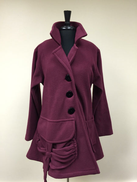 Bailey Fleece Couture Coat