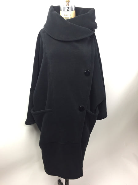london fleece coat