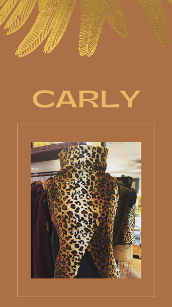 Carly Fleece Vest