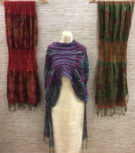 Textured Reversible Pashminas