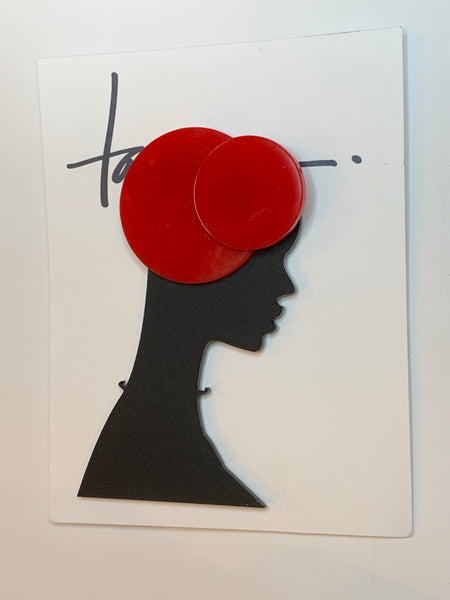 Red Hat Brooch