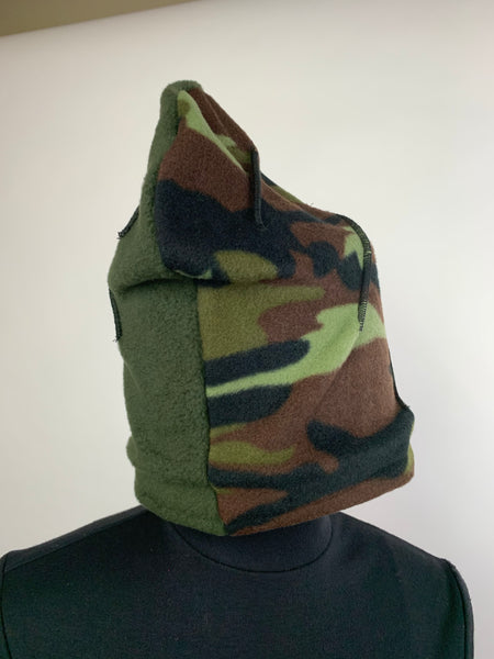 Reversible Camouflage Beanie