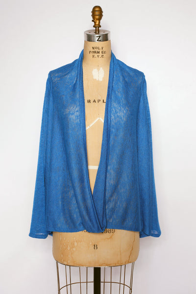 Sedona Top in Cobalt Sweaterknit