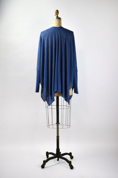 Upton Jacket in Dustyblue Sweater Knit