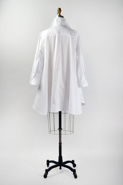 Stella Top in White Shirting