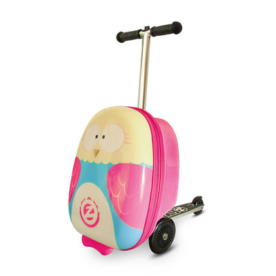 Zinc Flyte Olivia the Owl Case Scooter - Kid's Travel Bag - Zinc Flyte Australia