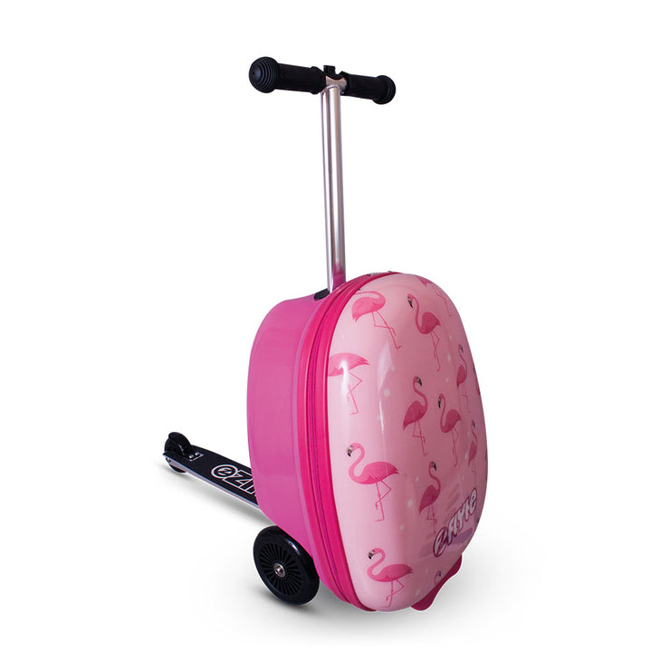 Zinc Flyte Fifi the Flamingo Case Scooter - Kid's Travel Bag - Zinc Flyte Australia