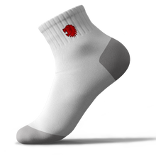Load image into Gallery viewer, Teesside Lions Trainer Sock White (Pack of 3)