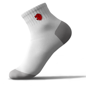 Teesside Lions Trainer Sock White (Pack of 3)