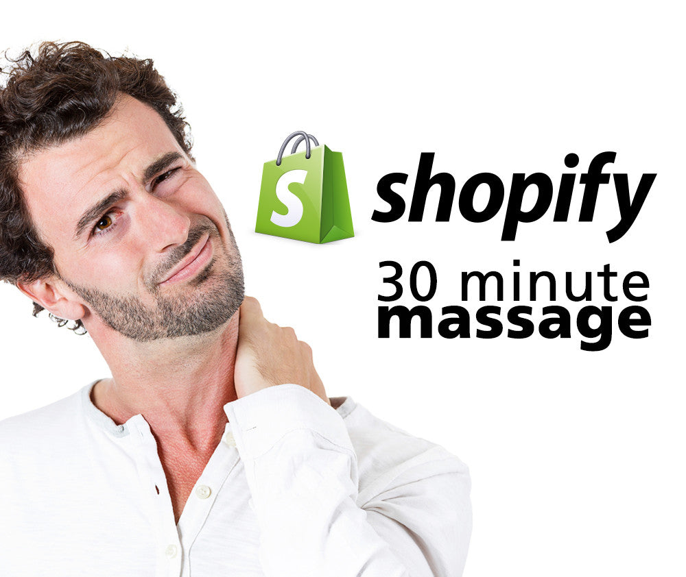 Shopify Massages!