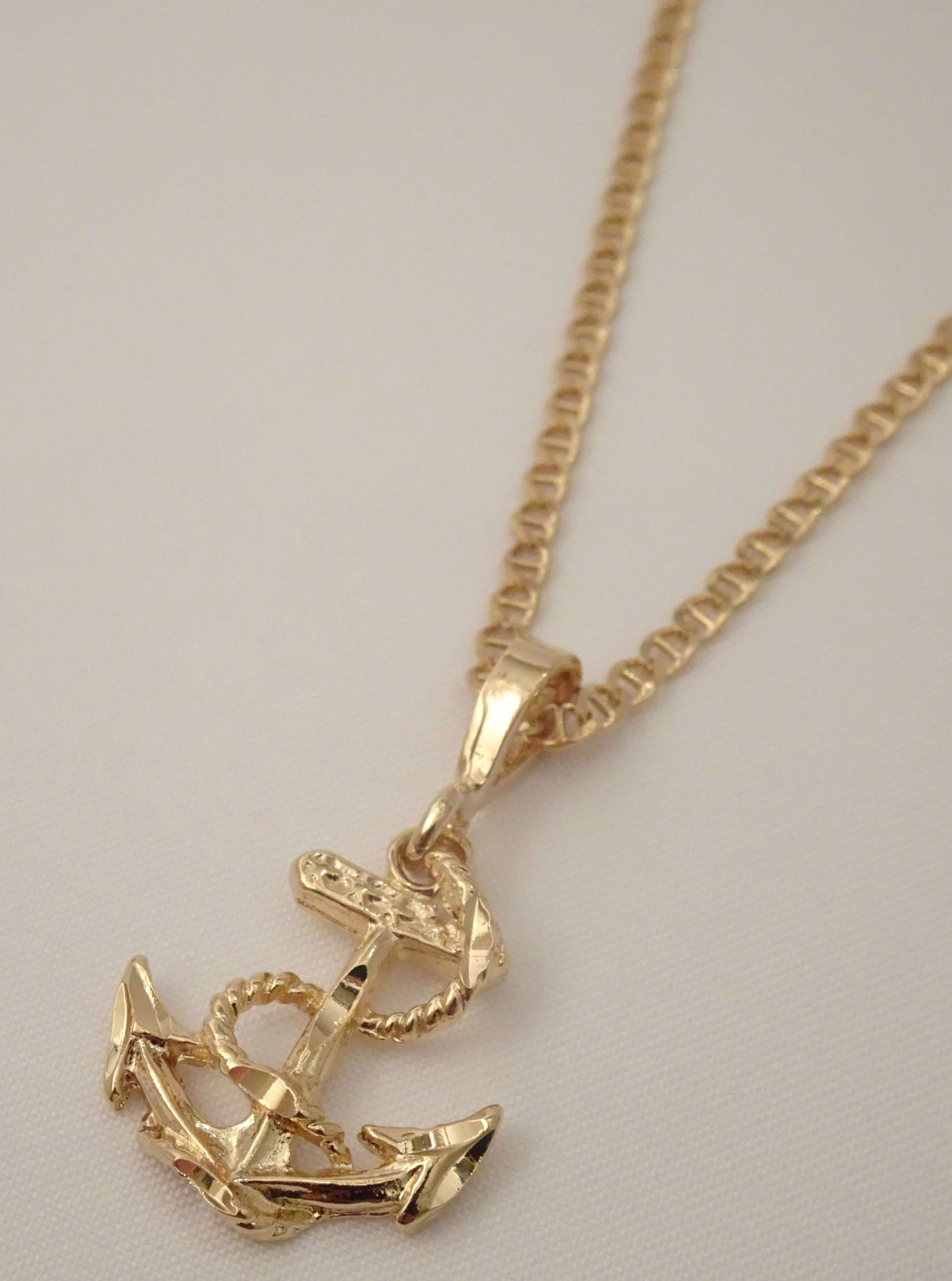 anchor necklace, mens anchor necklace, gold anchor necklace, womens anchor necklace, gold anchor pendant, anchor jewelry, nautical jewelry, biker jewelry, american jewelry, ocean jewelry