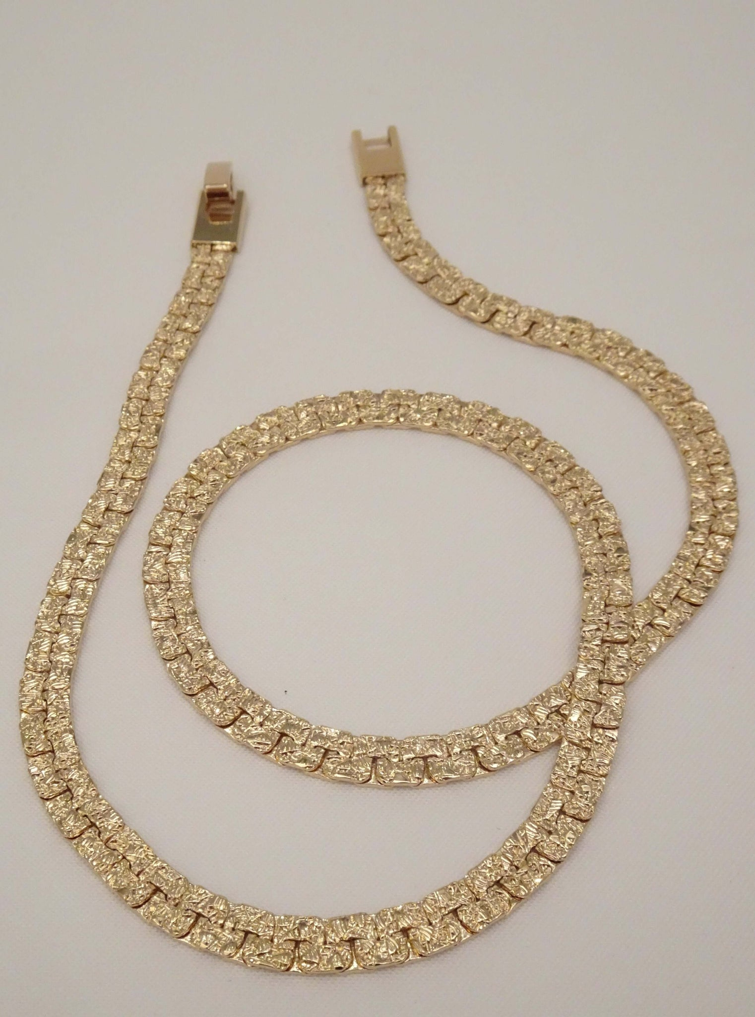 The Gold Nugget Chain Necklace Sparrow