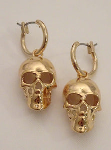 skull earrings, mens skull earrings, skull dangle earrings, skull hoop earrings, gold skull earrings, skull earrings for guys, skull gold earrings, cool earrings for men, mens small hoop earrings, mens hoop earrings silver, biker jewelry, american jewelry