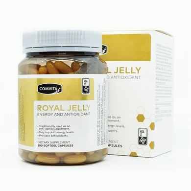Comvita Royal Jelly Engergy and Antioxidant 300 Capsules