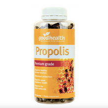 Load image into Gallery viewer, Good Health Premium Grade Propolis Immune Support 300 Capsules