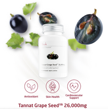 Load image into Gallery viewer, Unichi Tannat Grape Seed 26000mg 60 Capsules