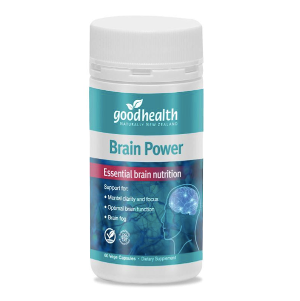Good Health Brain Power 60 Vege Capsules