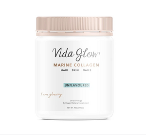 Vida Glow Marine Collagen Powder 90g - Unflavoured
