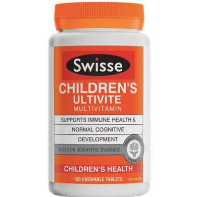 Swisse Children's Ultivite Multivitamin 120 Tablets