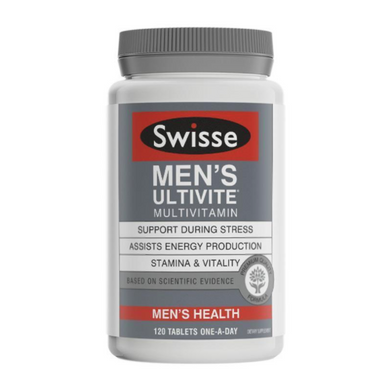 Swisse Men's Ultivite Multivitamin 120 Tablets