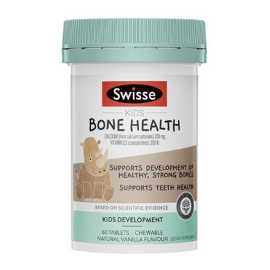 Swisse Kids Bone Health 60 Tablets