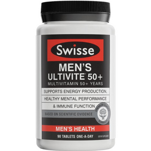 Swisse Men's Ultivite 50+ Multivitamin 90 Tablets