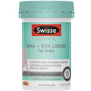 Swisse Ultinatal DHA + EPA Liquid for Baby 60 Capsules