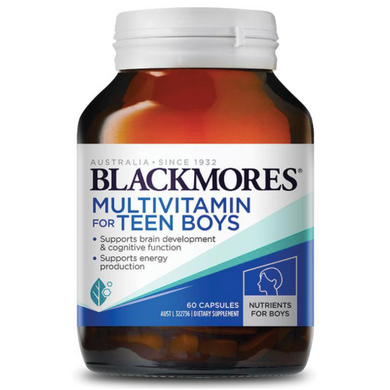 Blackmores Multivitamin for Teen Boys 60 Capsules