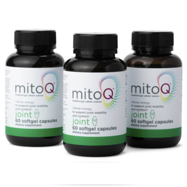 3 Packs MitoQ Joint 60 Capsules (180 caps in total)