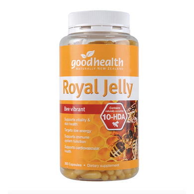 Good Health Royal Jelly Bee 365 Capusles with 10-HDA