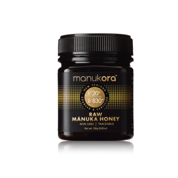 New Zealand MANUKORA MĀNUKA HONEY MGO 830+ (UMF 20+) 250g