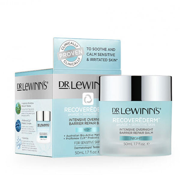 Dr Lewinn's Recoverederm Intensive Overnight Barrier Repair Cream 50g