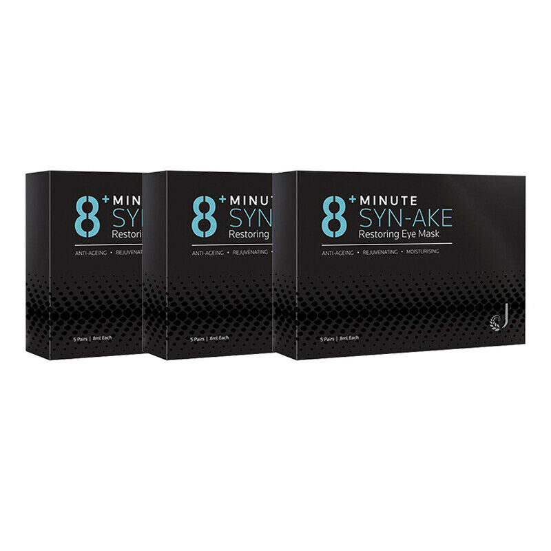8+ Minute Jema Rose Syn-Ake Restoring Eye 5 Pairs - 3 Packs