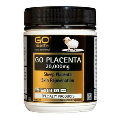 New Zealand Go Healthy Sheep Placenta 20,000mg 180 Capsules