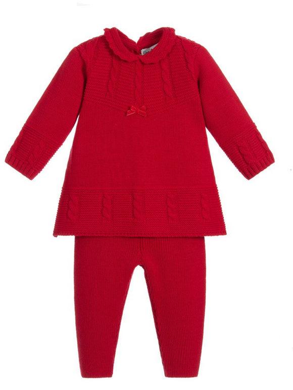 Knitted suit g862