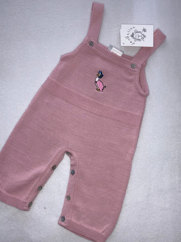 Jemima puddle duck dungarees 536