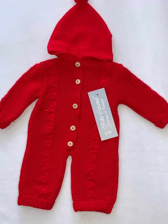 Knitted suit g1019