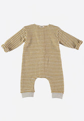 Bubu Stripes Buttoned Jumpsuit