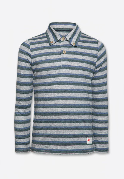 T-Shirt Polo LS Mid Oxford