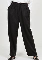 Women's Trousers Feelgood Charcoal Melange