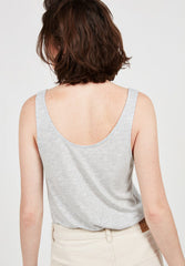 Women's Tank Top Jenotown Heather Grey