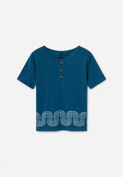 Road Buttons T-Shirt