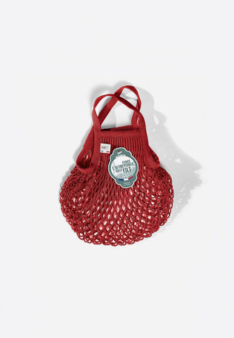 Net Shopping Bag Rouge