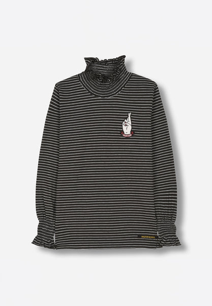 Teeroko Ash Black Stripes