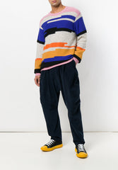 Backspace Sweat Reverse Stripe