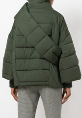 Scale Jacket Green