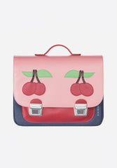 Signature Bag Midi Cherry Pink